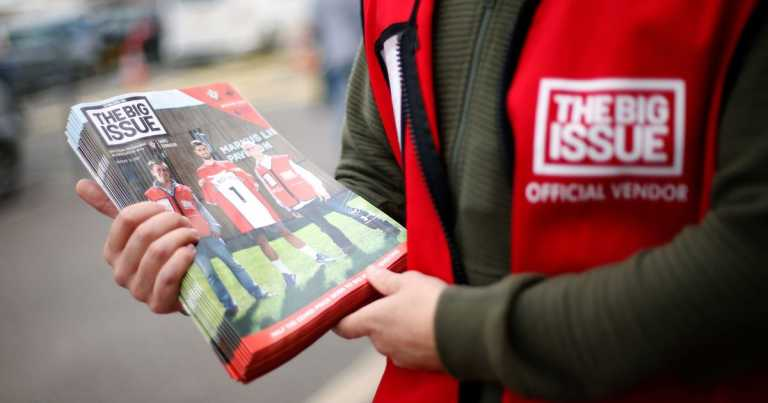 Big Issue launches urgent Christmas appeal after huge fall in sales