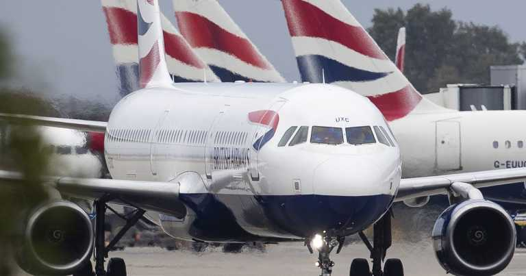 British Airways boss calls on government to bin coronavirus quarantine rules