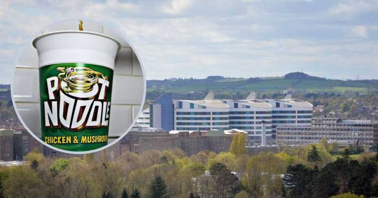 Brum students given Pot Noodles and ready meals while isolating