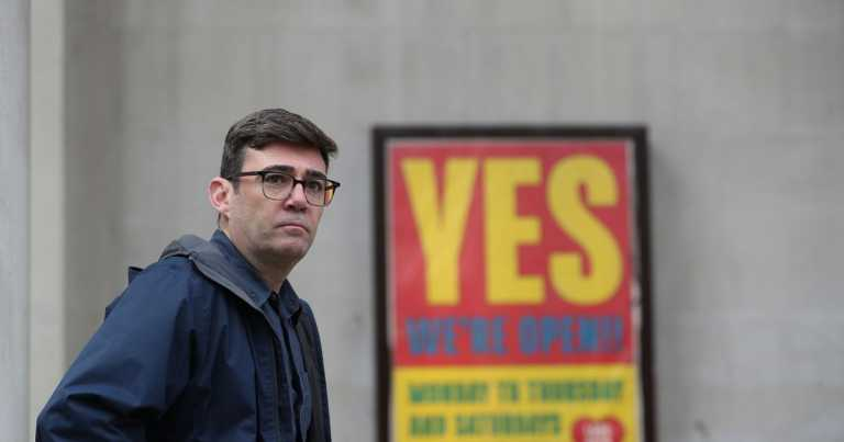 Burnham blames Sunak in Manchester lockdown row