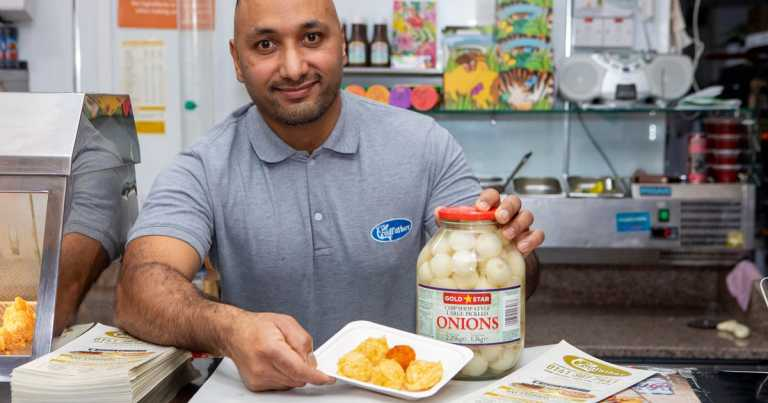 Chip shop starts selling battered pickled onions
