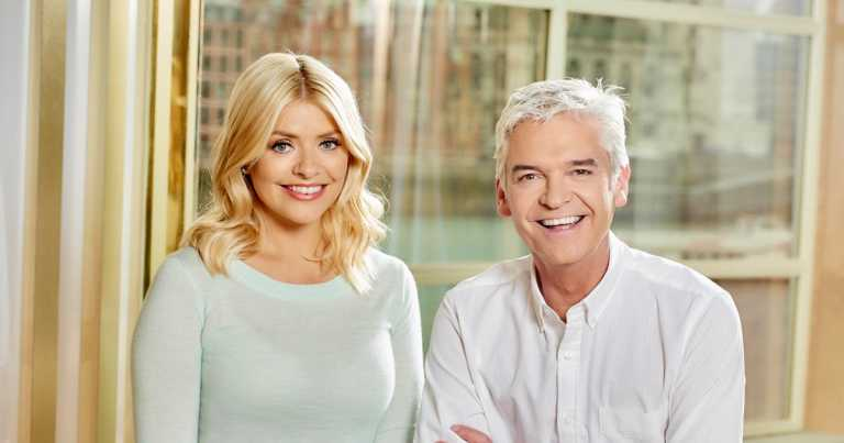 Emotional Phillip Schofield in tearful tribute to Holly Willoughby