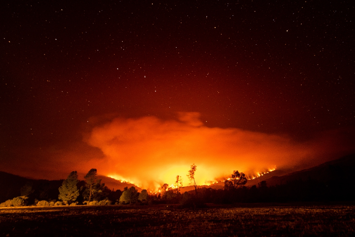 Epic scale of Western wildfires grows as a single fire surpasses 1M acres