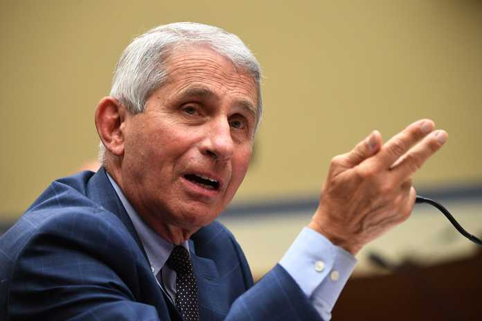 Fauci: Trump 'equates wearing a mask with weakness'