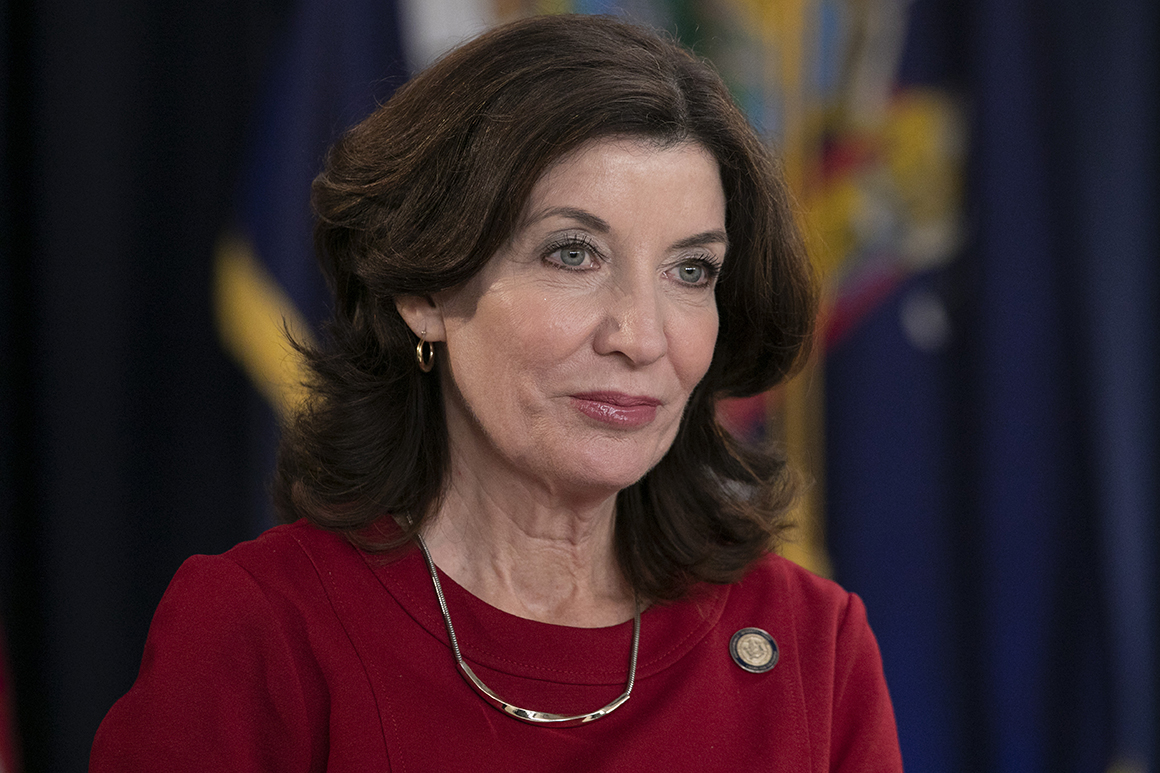 Hochul's back as New York's campaign warrior