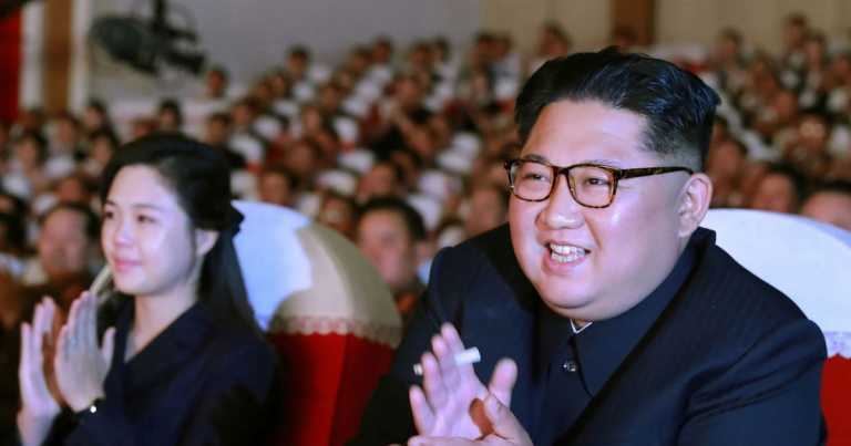Kim Jong-un's singer ex-lover 'replaces wife at his side in mystery power shift'
