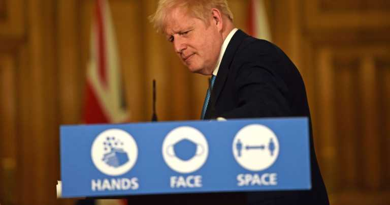 Live: Boris Johnson announcement on Covid lockdown measures