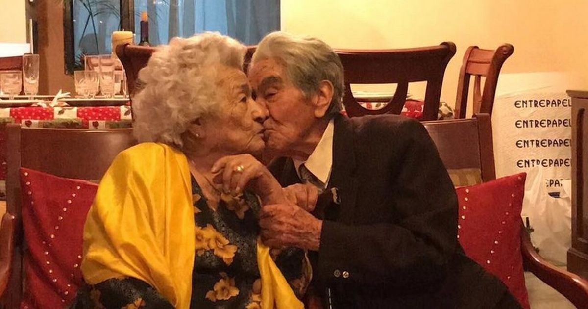 Man, 110, dies after he and wife of 79 years were crowned world's oldest couple
