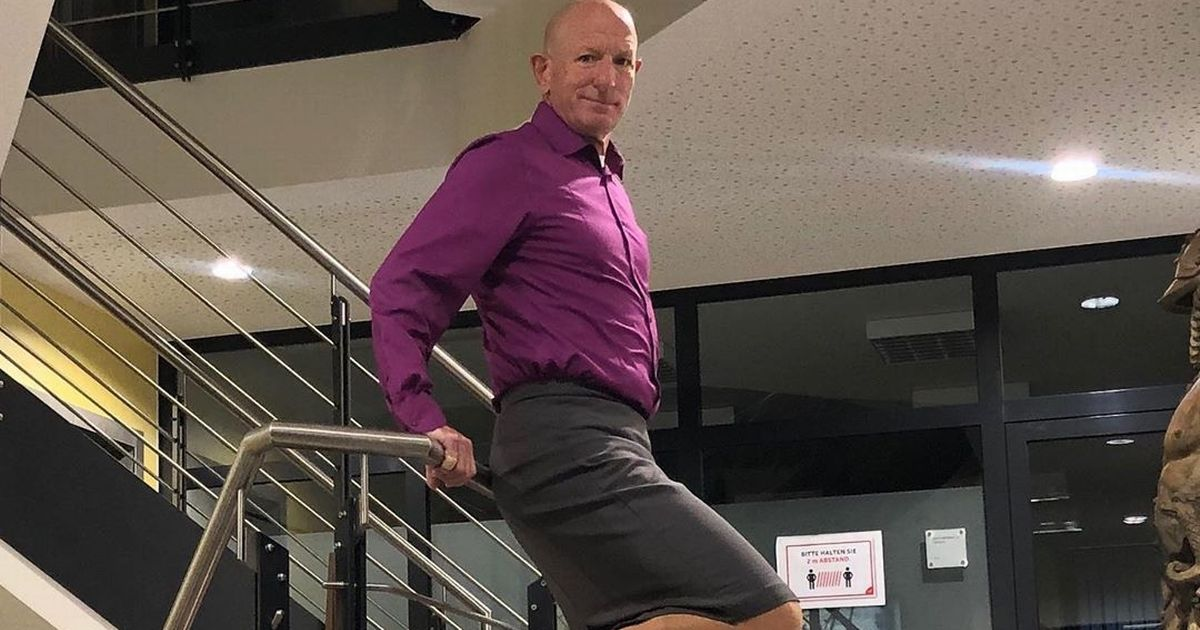 Married dad proudly wears skirts and high heels to prove clothes have no gender
