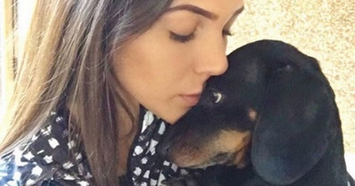 Michelle Keegan issues warning after saving her dog's life