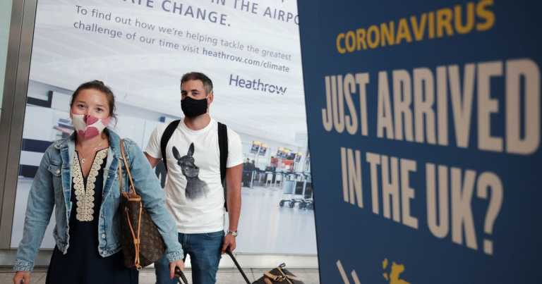 Misery for airline passengers as government delays easing 14-day quarantine rule