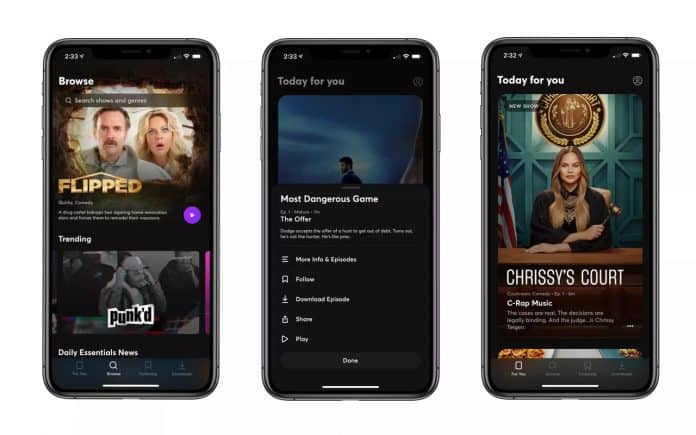Mobile oriented content streaming service Quibi shuts down