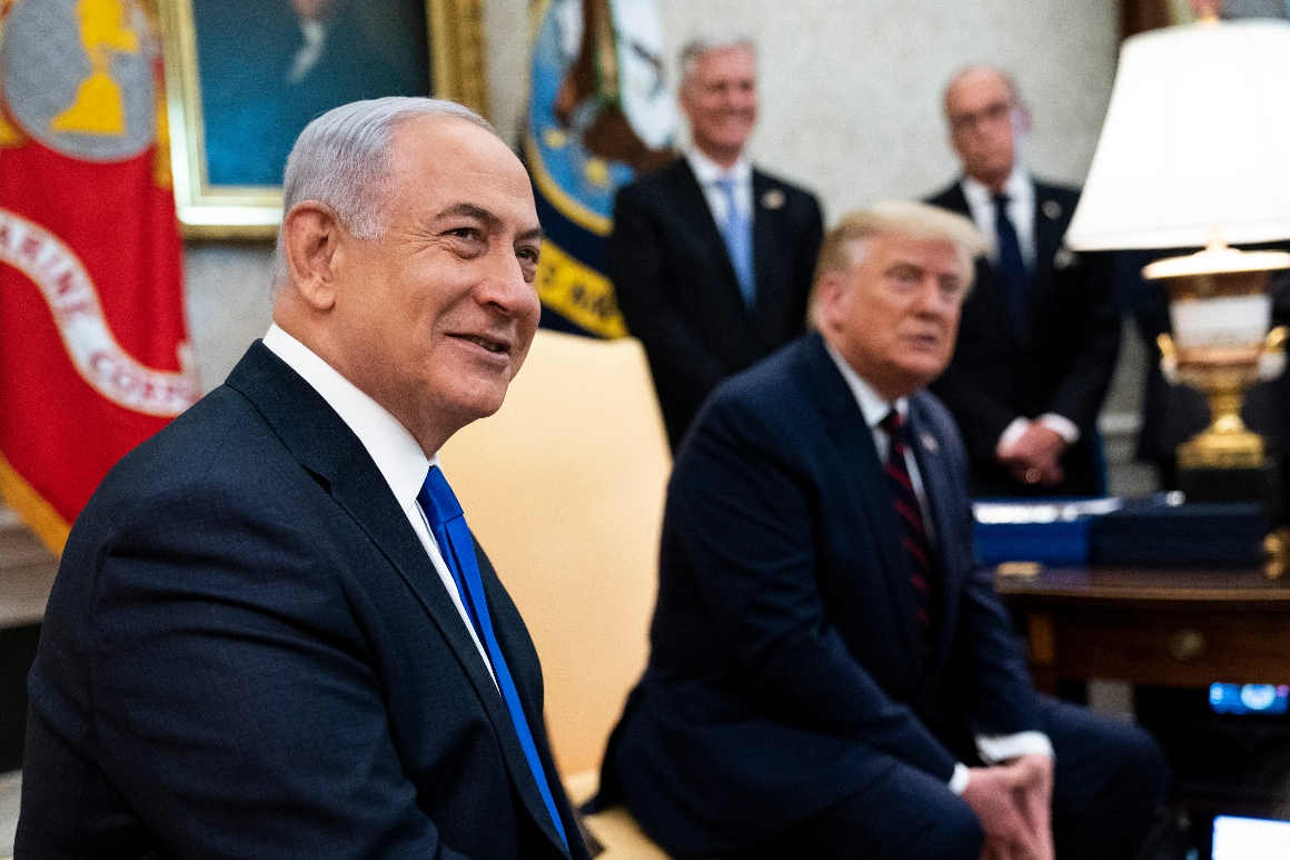 Netanyahu dodges Trump's invitation to slam Biden on conference call