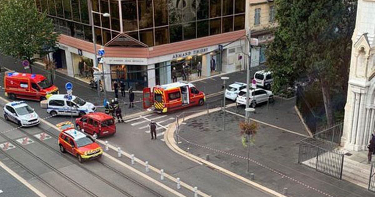 Nice knife attack 'Two dead' and several injured in 'suspected terror attack'