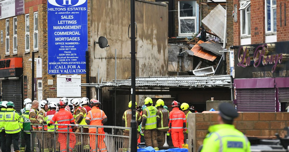 People feared dead after building collapses due to 'gas explosion'