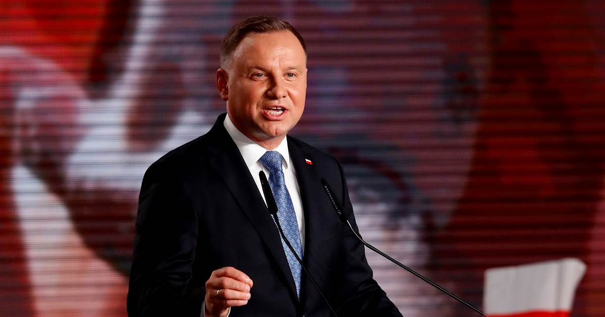 Poland's president tests positive for coronavirus