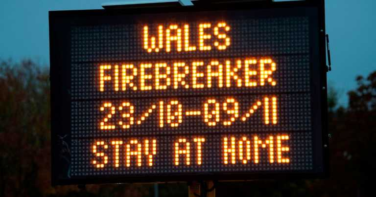 Wales told to prepare for second firebreak lockdown in January