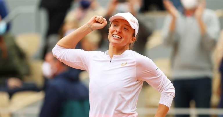 Polish player Iga Swiatek makes history in French open win over American Sofia Kenin