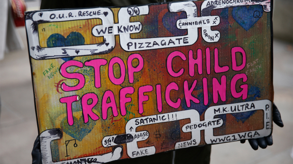 QAnon's Obsession With #SaveTheChildren Is Making It Harder To Save Kids From Traffickers