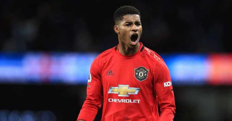Rashford fires back after PM says no more free school meals