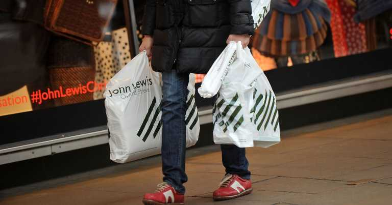Retail sales jump as people start early Christmas shopping