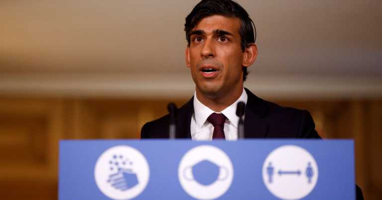 Rishi Sunak to announce changes to furlough and business support today