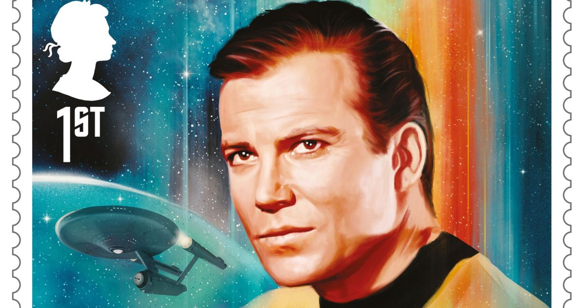 Royal Mail to release new stamps to celebrate 50 years of Star Trek