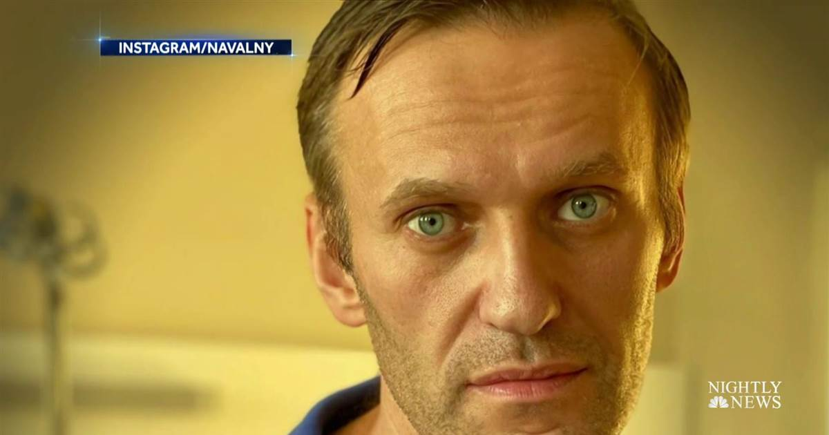 Russian opposition leader Navalny calls on Trump to condemn alleged assassination attempt