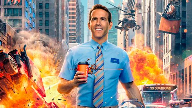 Ryan Reynolds starring in his own battle royale video game