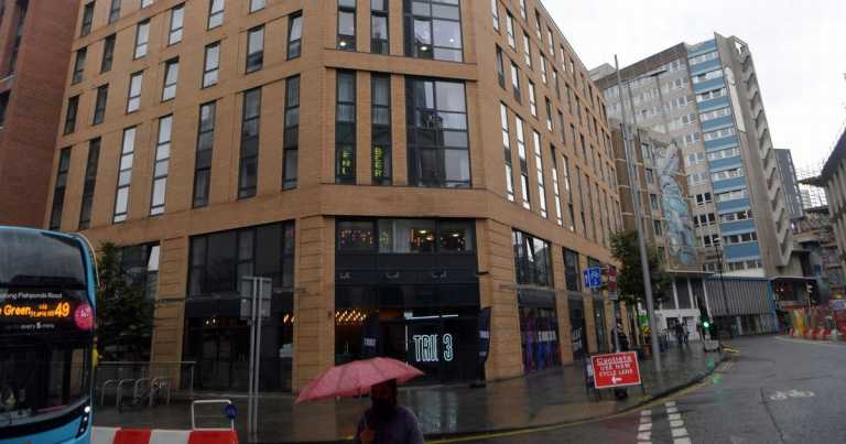 Student halls to go into lockdown after 40 test positive for Covid
