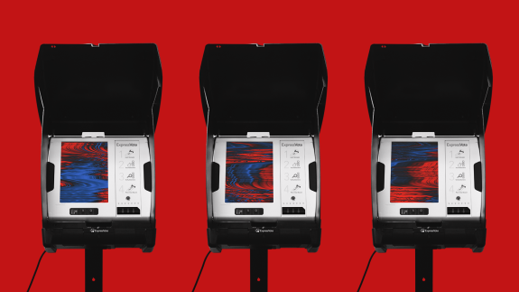 Technical Difficulties On Election Day Won't Mean Democracy Is Over