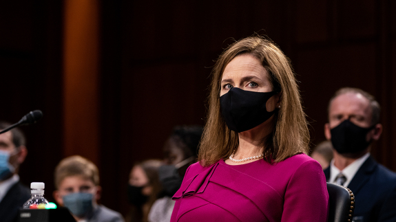 The Battle Lines Are Set After The First Day Of The Amy Coney Barrett Hearings