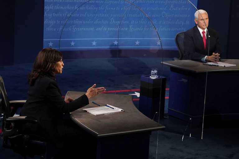 The VP debate offers the nation a glimpse of a post-Trump future