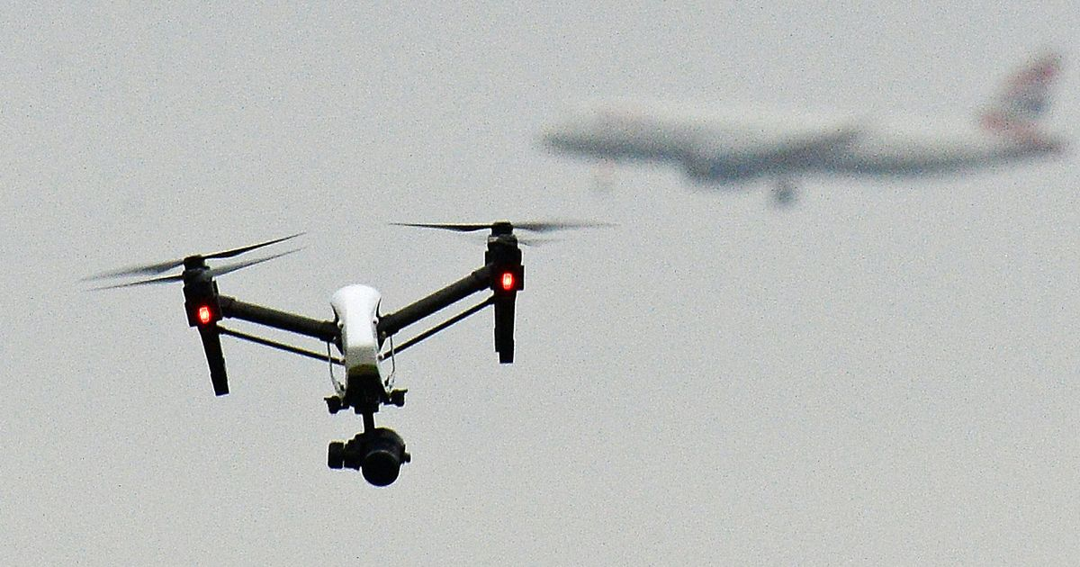 Top Gun' pilots flying drones in ground-breaking NHS Covid delivery scheme