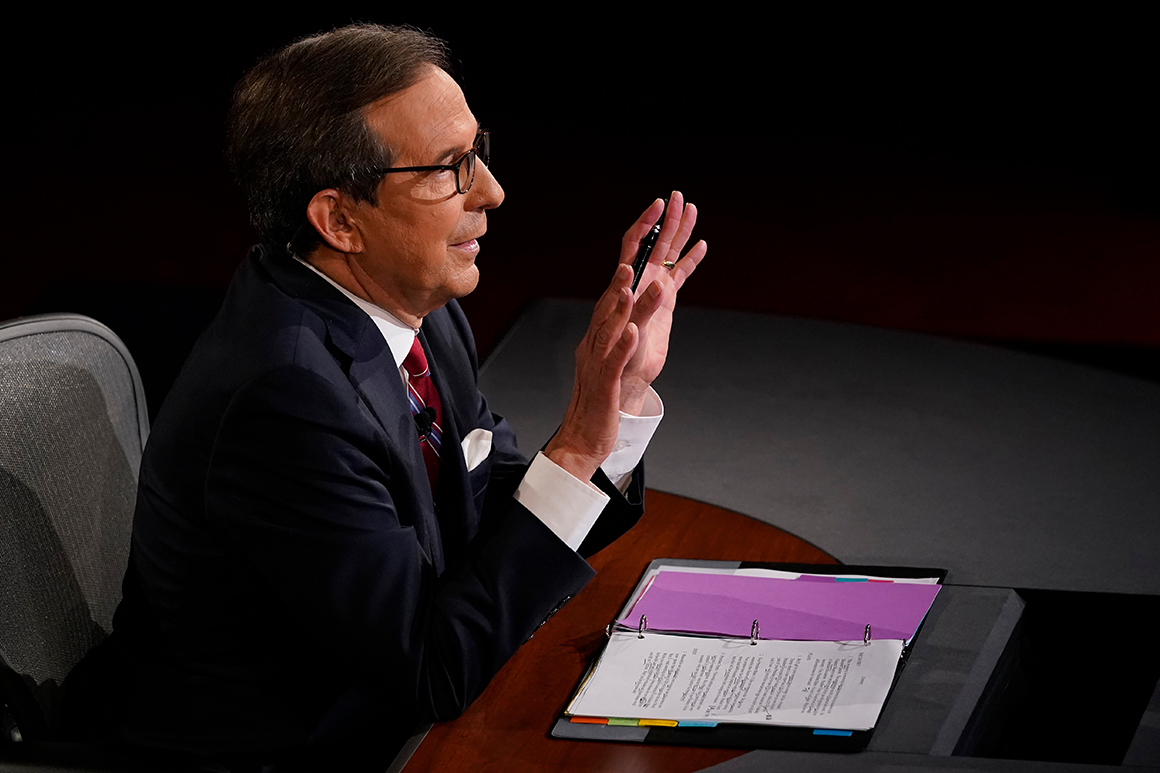 Trump campaign adviser spars with Chris Wallace over debate