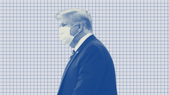 Trump's Bout With COVID-19 Might Be Hurting His Reelection Chances