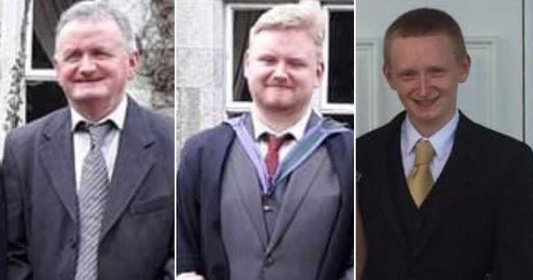 Two sons and dad found shot dead at farm 'after inheritance disagreement'