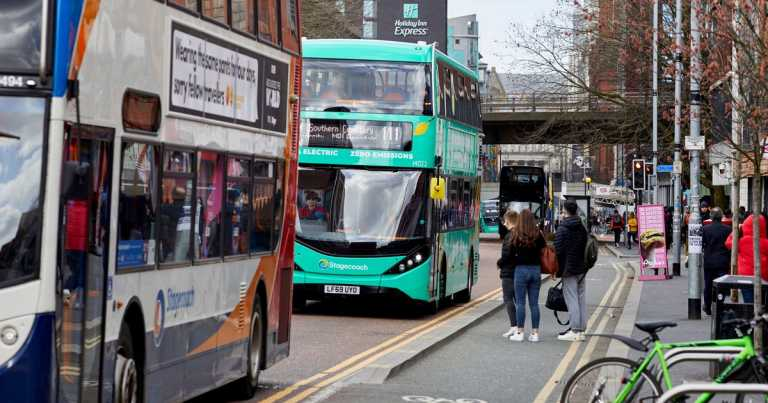 """UK government slammed over """"farcical"""" bus transport policy"""