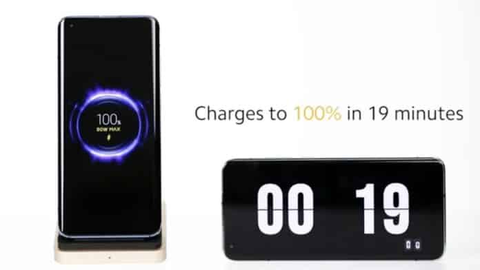 Xiaomi works on 80W wireless charging technology