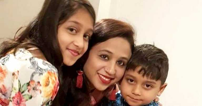 Young mum and two children 'found strangled to death' in home pictured