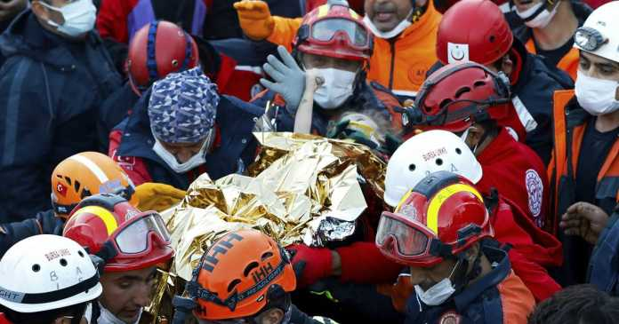 'A true miracle': Rescuers weep with joy as 2 girls pulled from rubble of deadly Turkey quake