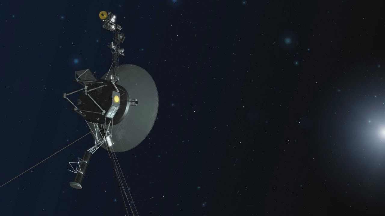 First communication with Voyager 2 months later: 'Hello'