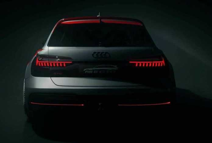 Audi RS6 GTO Concept Revealed At Celebrations
