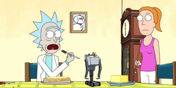 Rick And Morty's Butter Passing Robot Turns Into A Real product