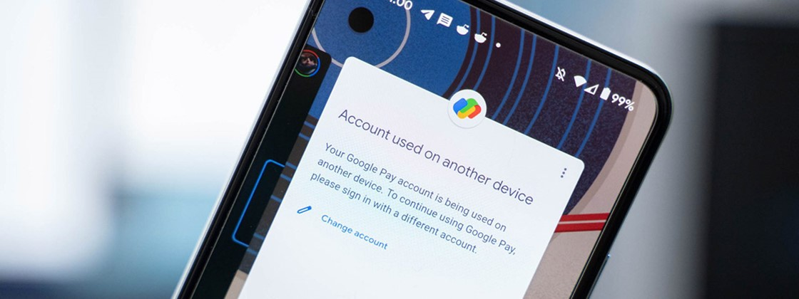 Google Pay cannot be used on more than one smartphone