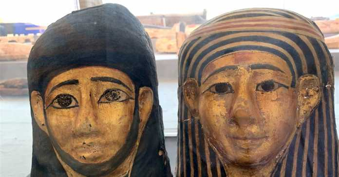Ancient mummies unveiled in Egypt, over 2,500 years after their burial