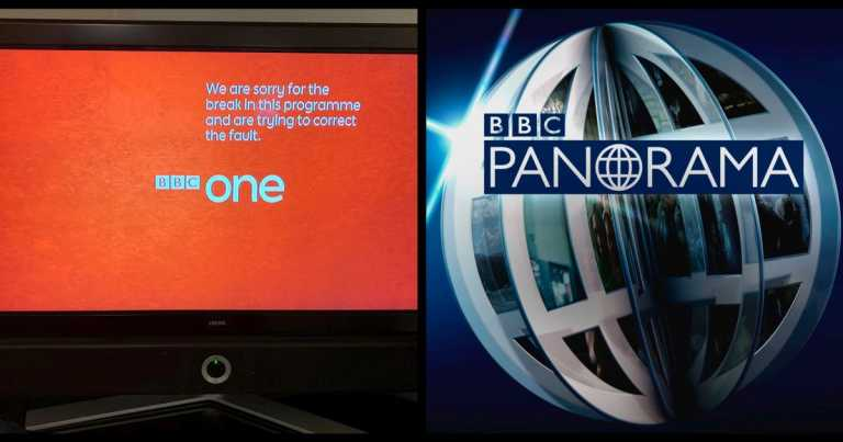BBC One goes off-air for 10 minutes after technical difficulties