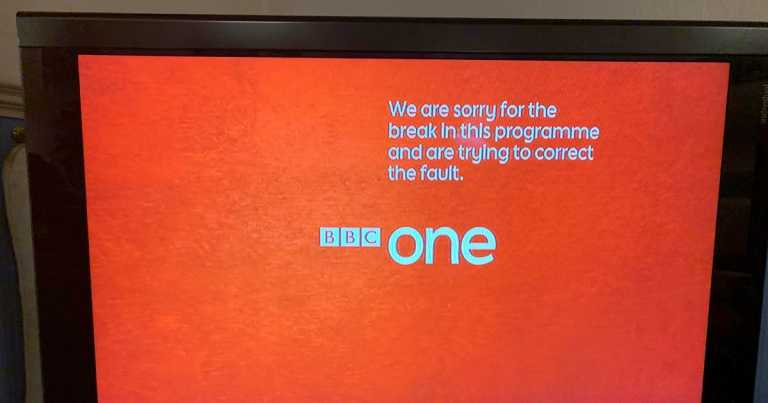 BBC One technical difficulties force channel off-air in excruciating meltdown