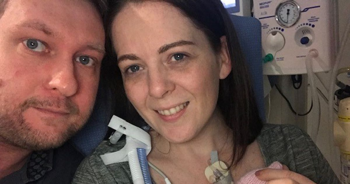 Baby was born at 22 weeks weighing just 1lb 1oz