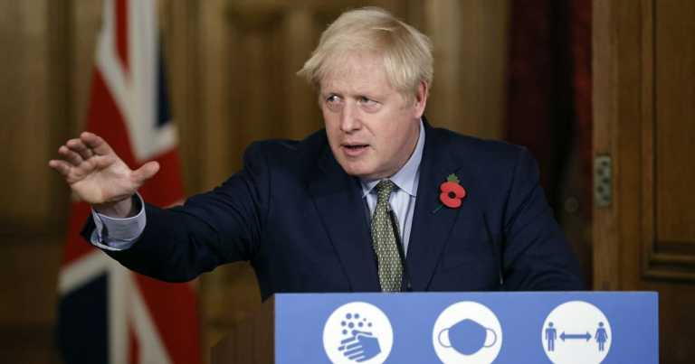 Boris Johnson to give national televised address today